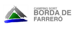 Logo Borda Farreró Camping