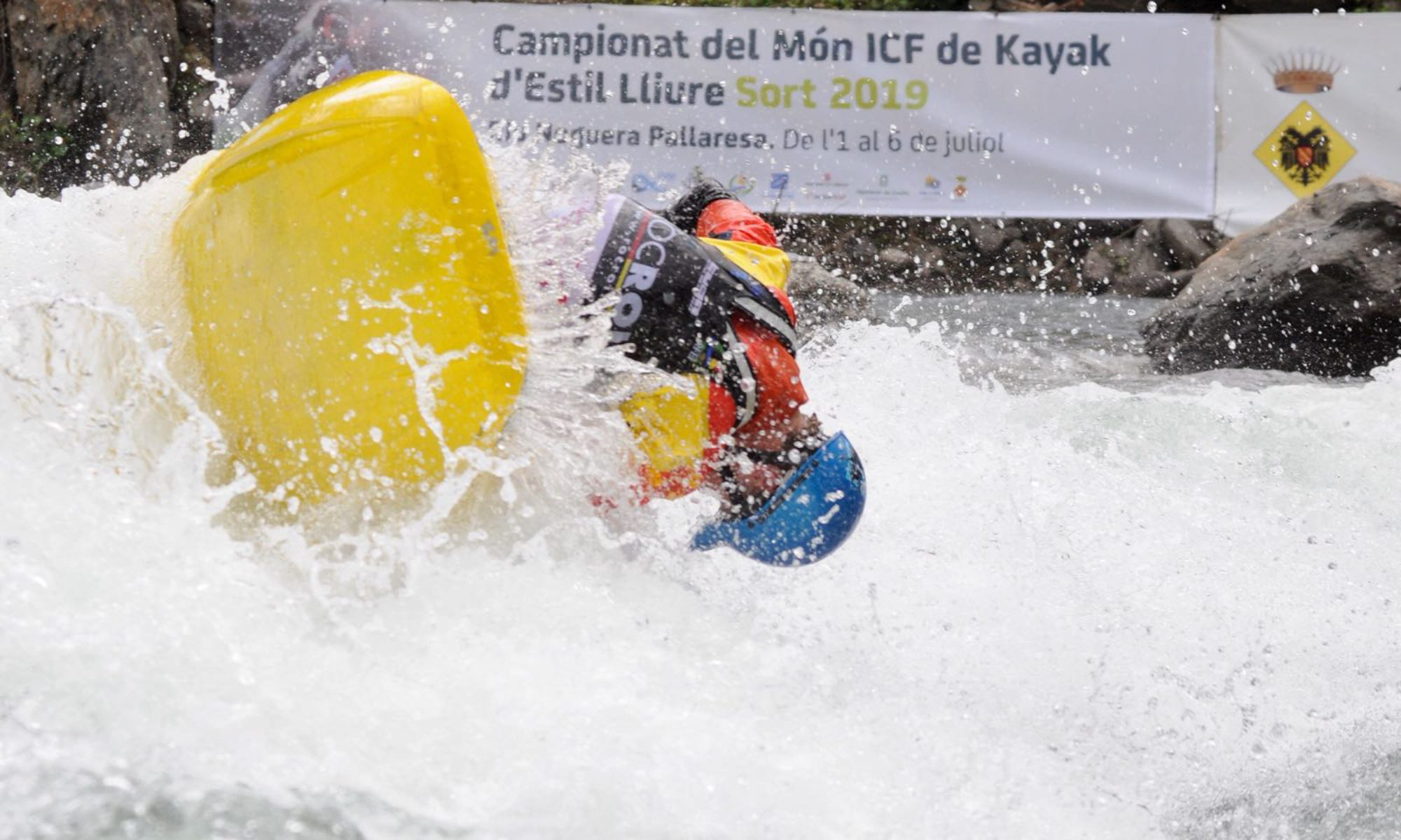 ICF kayak freestyle Sort