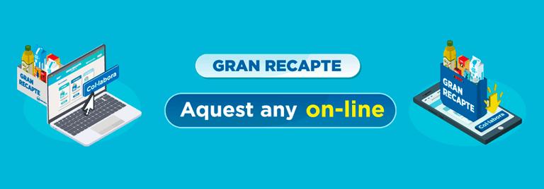 Gran recapte d'aliments online