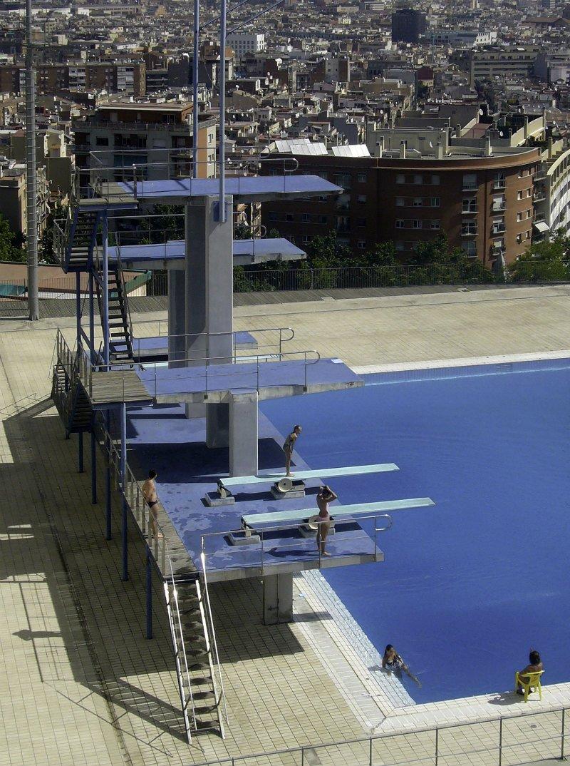 Presentaci de la copa del m n d 39 estil lliure ajuntament for Piscina municipal de salt