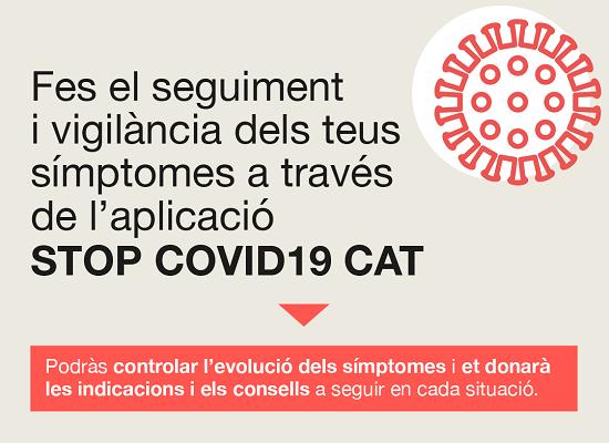 Aplicació STOP COVID19 CAT