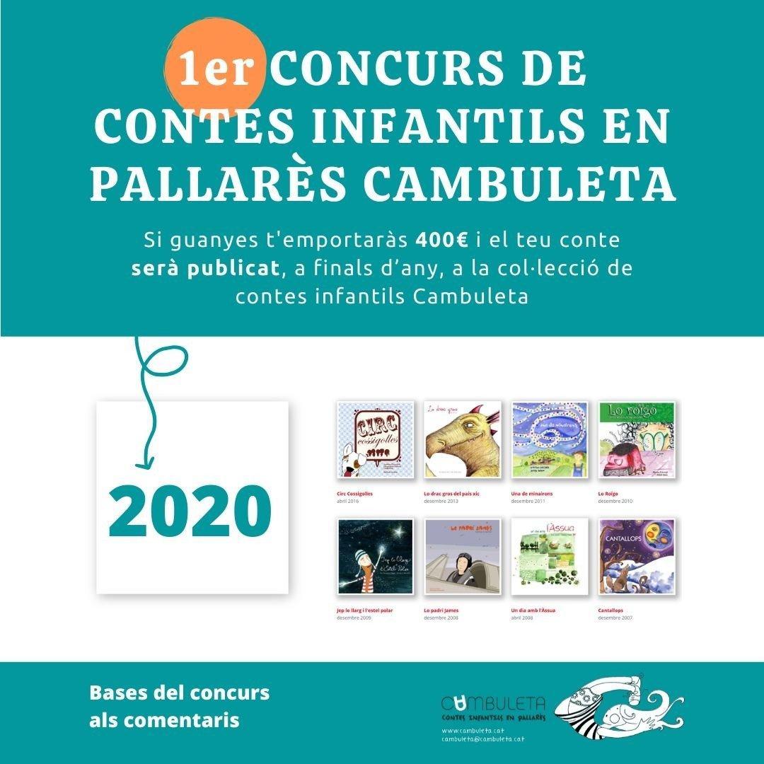 Concurs Cambuleta de contes infantils en pallarès