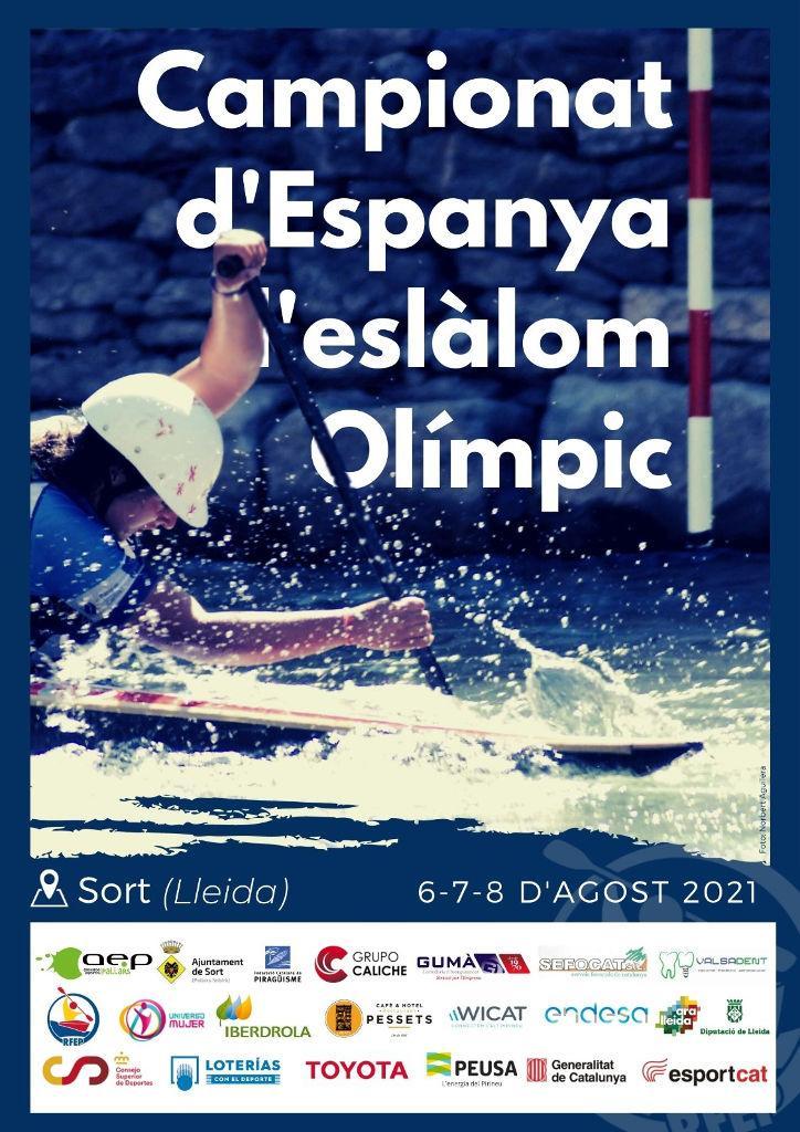 Cartell Campionat Espanya Eslàlom Olímpic