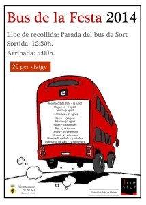cartell bus festa 2014