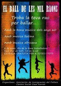 cartell mil raons per ballar