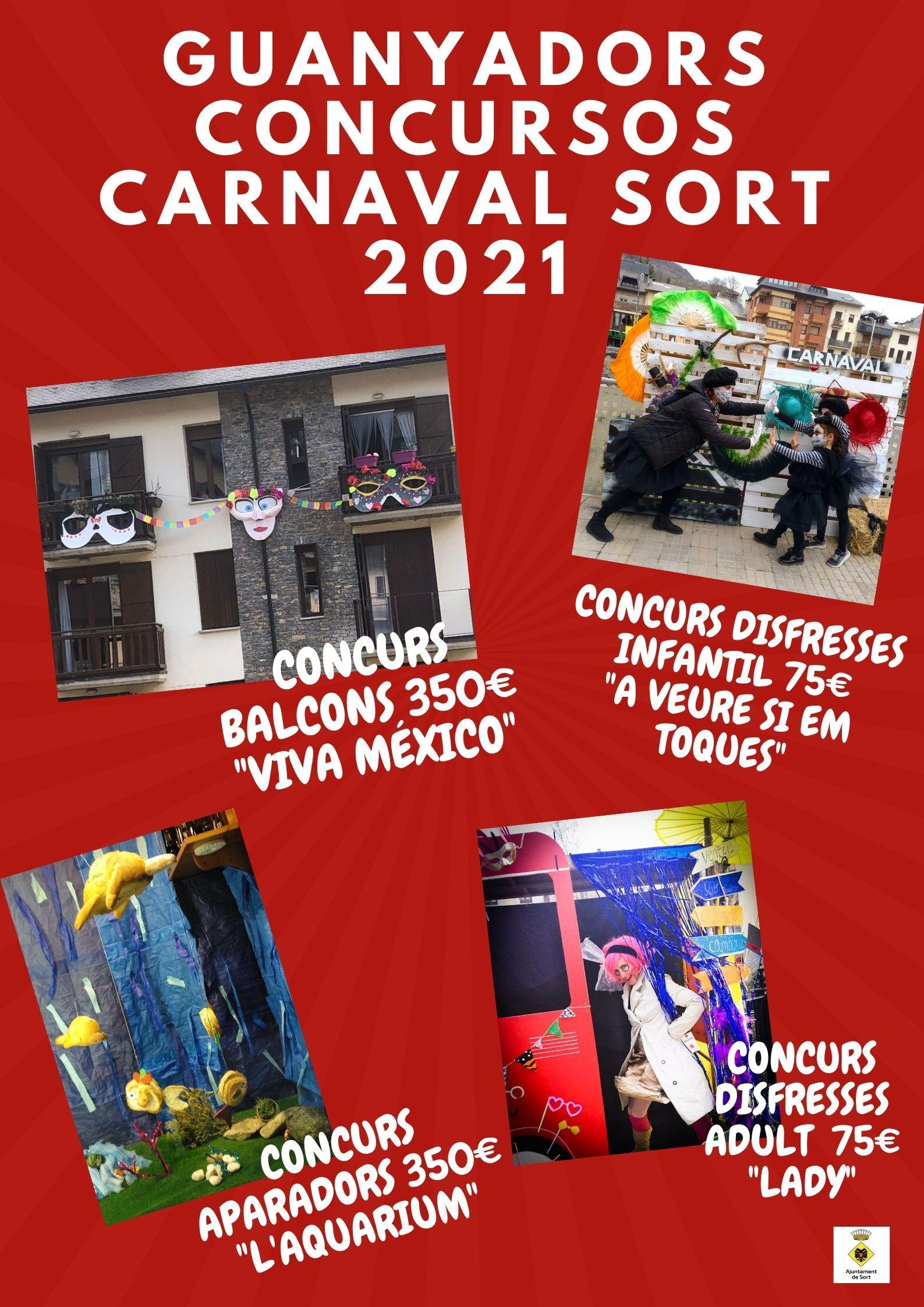 Premis concursos disfresses Sort 2021