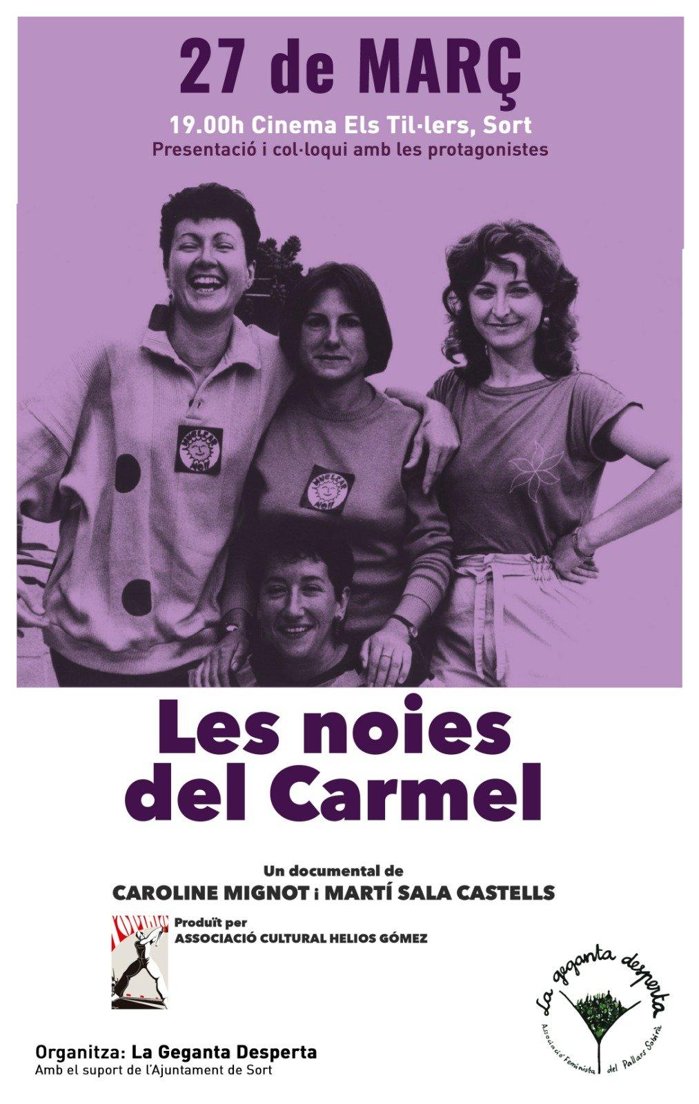 Cartell del documental Les noies del Carmel