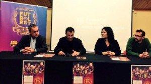 (d'esquerra a dreta: Xavier Pont, Llàtzer Sibís, Yolanda Antín i Ramon Garriga)