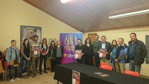 La presentació va comptar amb l'assistència de representants del món educatiu, cívic i esportiu del municipi