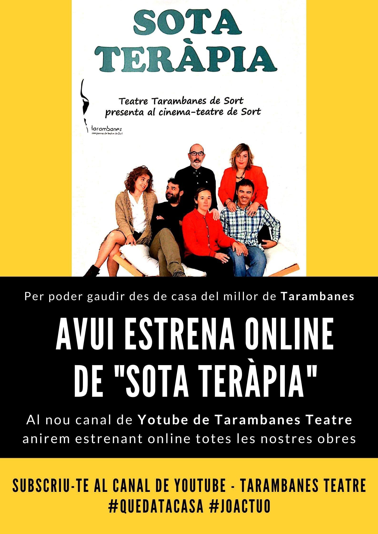 Gaudeix des de casa del teatre de Tarambanes!